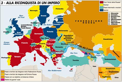 La Russia batte l'Unione Europea e si riprende l'Ucraina