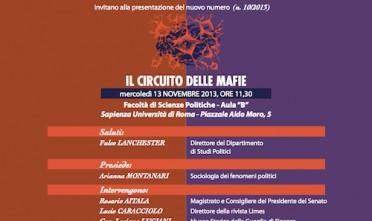 """Presentazione de """"Il circuito delle mafie"""" a Roma"""