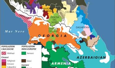 Il mosaico del Caucaso
