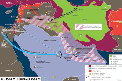 La terza via degli Emirati Arabi nelle crisi di Egitto e Siria