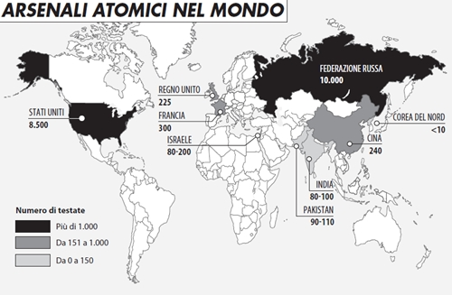 L'Ucraina, senza Crimea e senza atomica