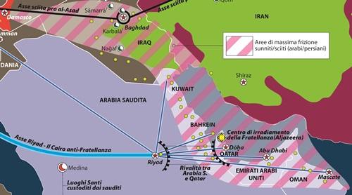 Arabia Saudita contro Qatar: Consiglio del Golfo senza cooperazione