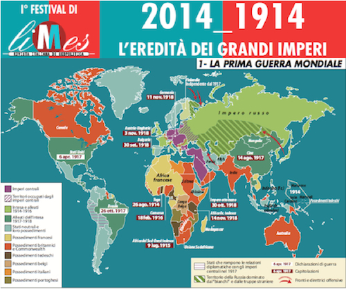 #LimesFestival: Cent'anni dopo, le lezioni della Grande guerra