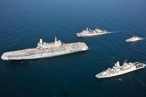 """""""La Marina militare è la punta di lancia dell'Italia nel mondo"""""""