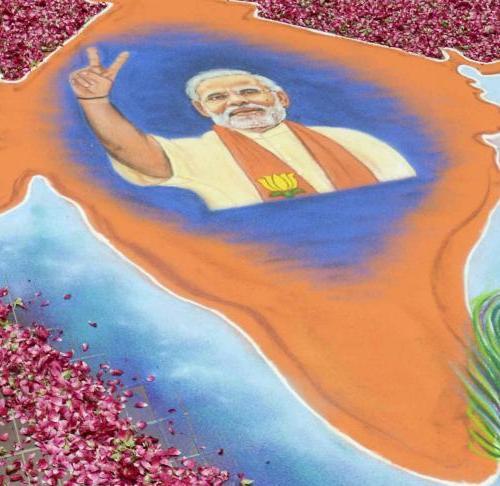 Lo zafferano e l'India degli eroi: il trionfo di Narendra Modi