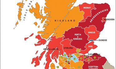 Il voto in Scozia