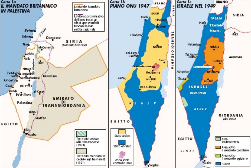 Israele E Palestina Cartina.Israele E Palestina L Unica Pace Possibile Limes