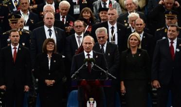 Il trionfo di Putin a Belgrado