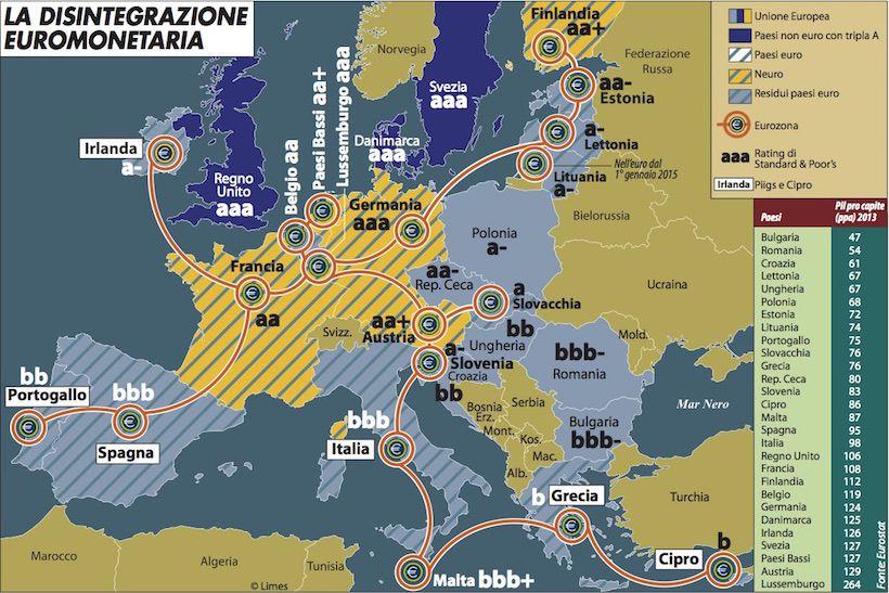 3-La disintegrazione euromonetaria