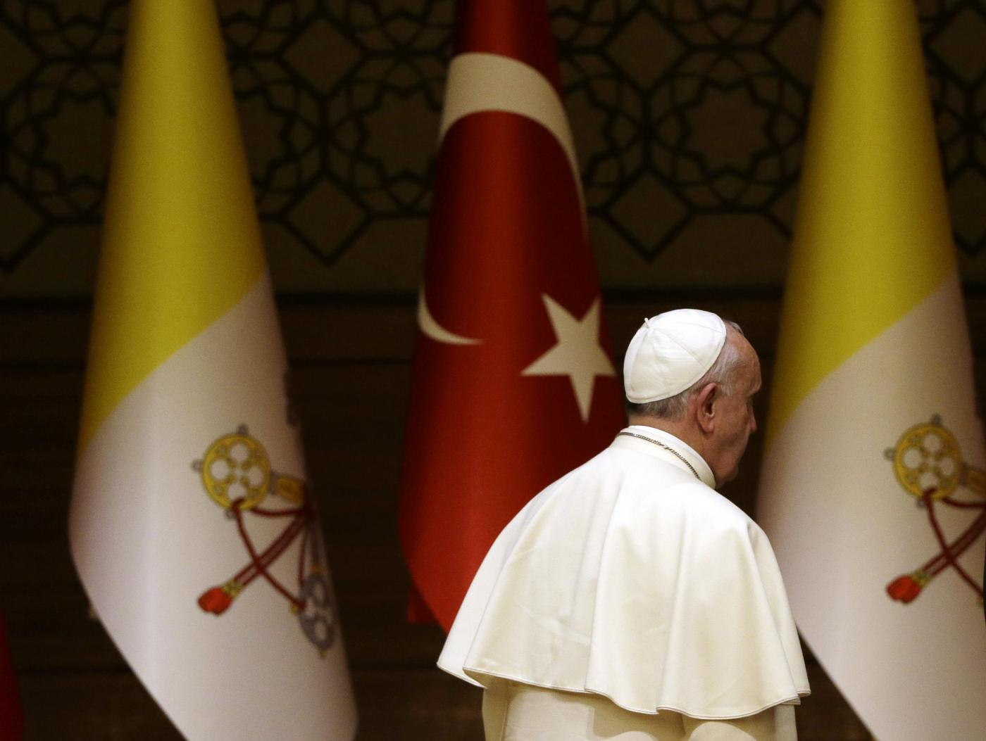 Papa Francesco archivia in silenzio l'idea della Turchia nell'Ue