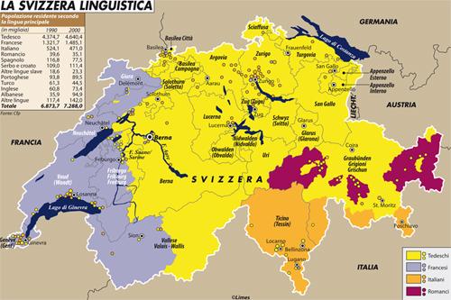 Cantoni Cartina Politica Svizzera.I Referendum E La Schizofrenia Collettiva Della Svizzera Limes