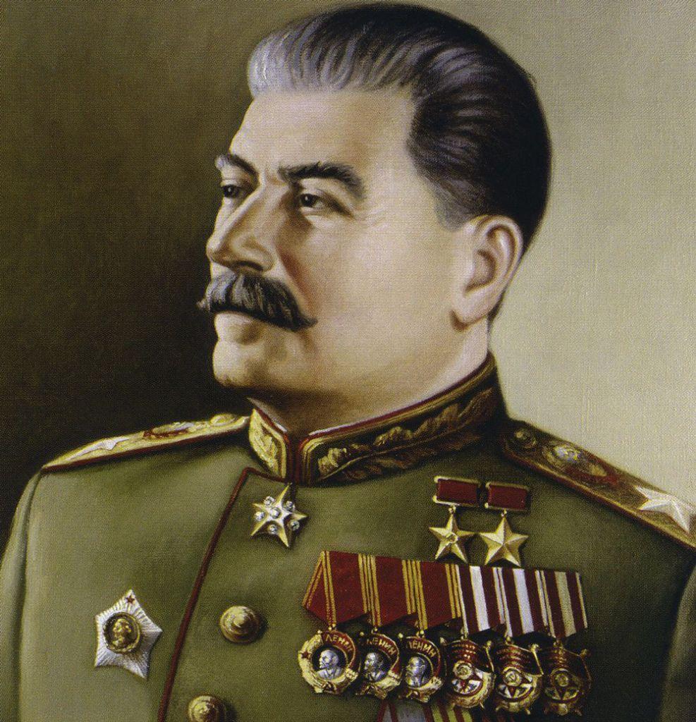 Joseph Stalin, dipinto da N. W. Rshevsky. Foto di: rps/ullstein bild via Getty Images
