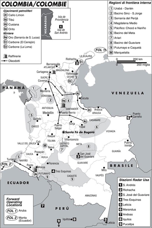 [Carta di Laura Canali da Limes 4/2003 Panamerica Latina]
