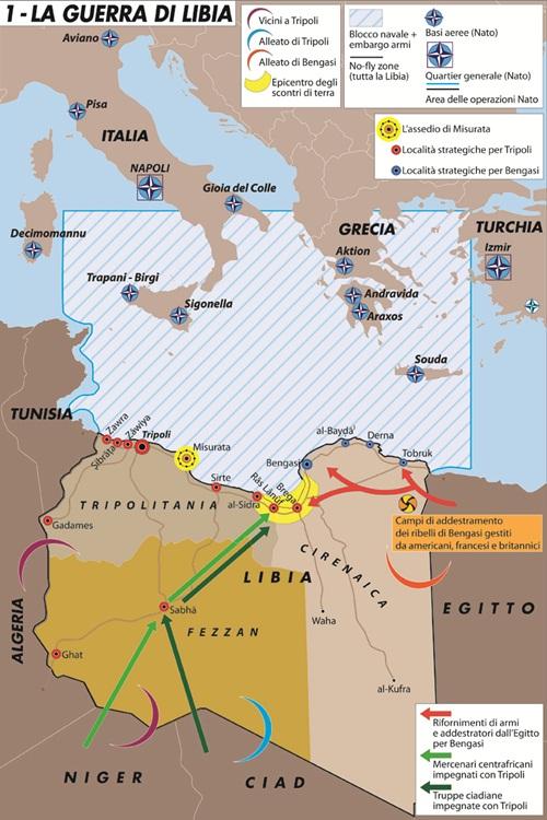 Libia Italia Cartina.La Guerra Di Libia Limes