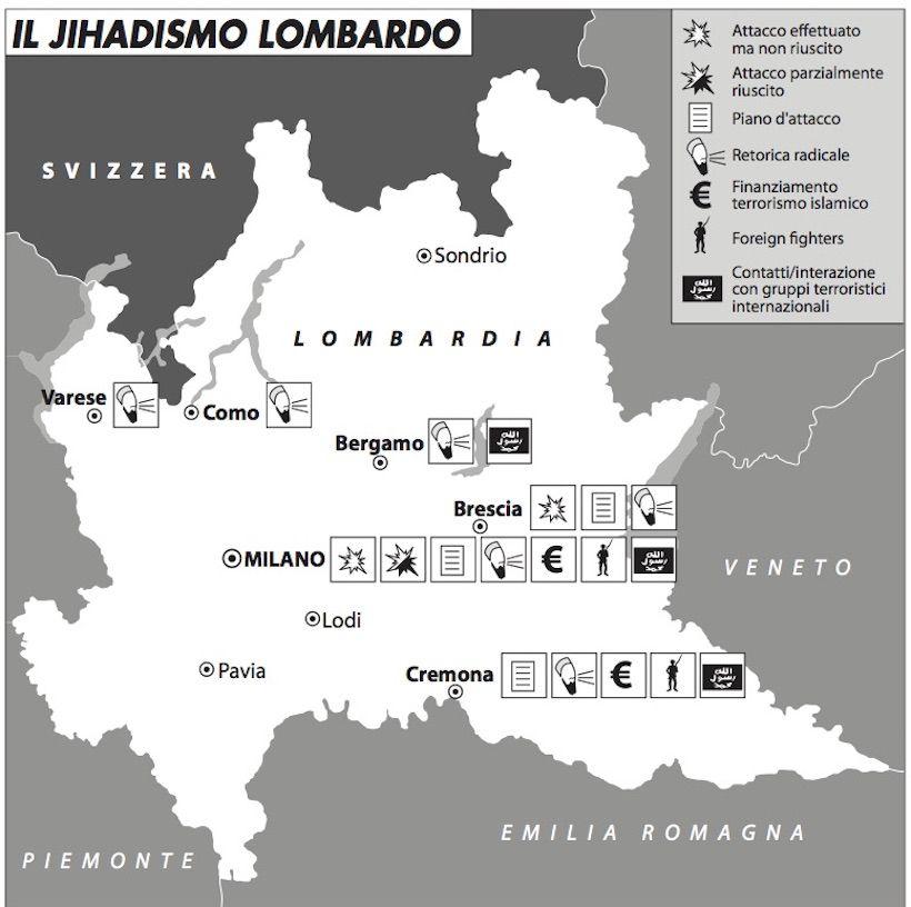 Il jihadismo lombardo 820 b:n