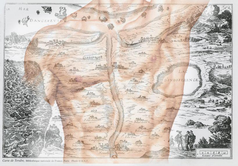 figura 2-Carte de Tendre+torace umano