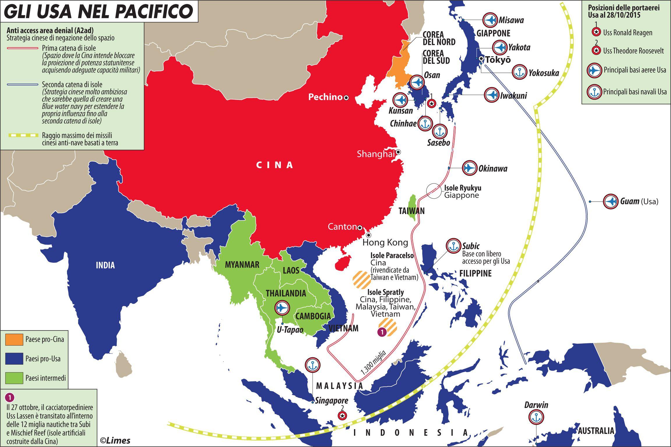 Mappa geopolitica