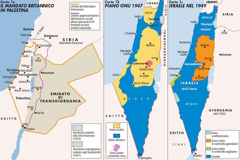 Cartina Politica Palestina.La Confederazione Del Giordano Non Si Fara Mai Limes