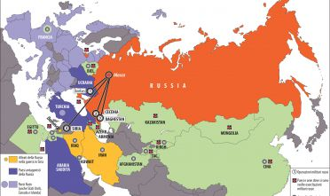 L'attivismo militare della Russia nel 2015