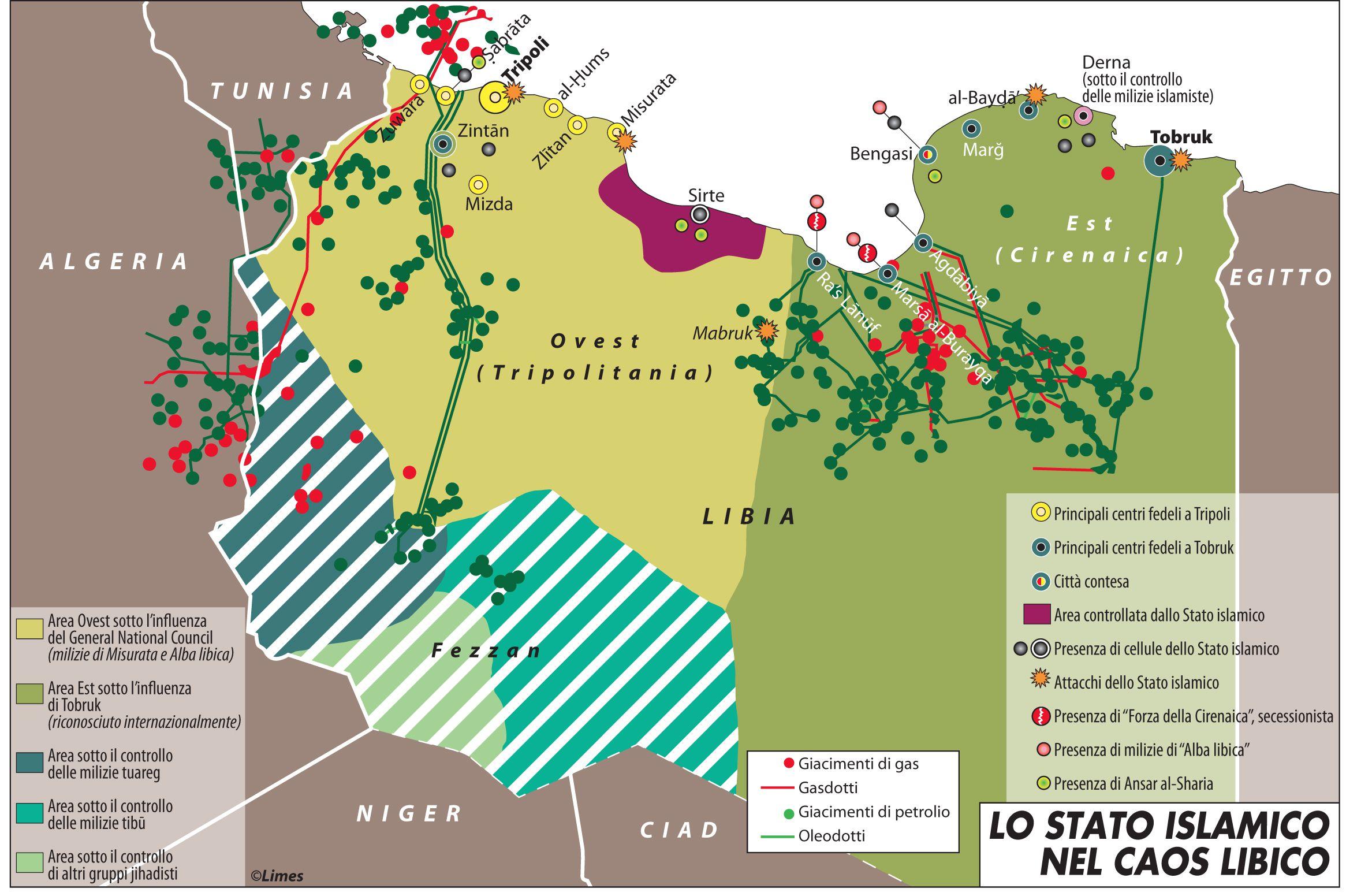 Lo stato islamico nel caos libico