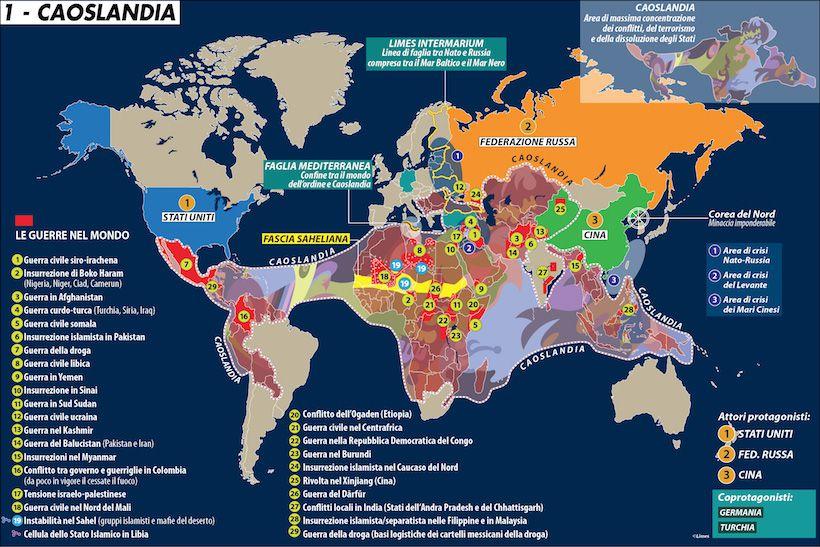 Le guerre nel mondo