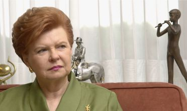 Vaira Vike-Freiberga, President of Latvia