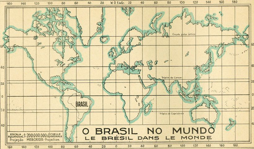 """Aspectos do Brasil moderno"", Ministério do trabalho, indústria e comércio, Departamento nacional da indústria e comércio, 1934"