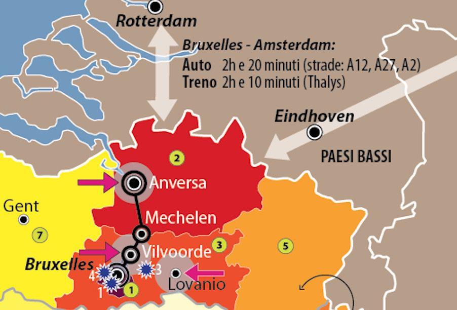 Dettaglio belgio jihadisti