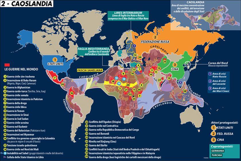Le Carte A Colori Di La Terza Guerra Mondiale