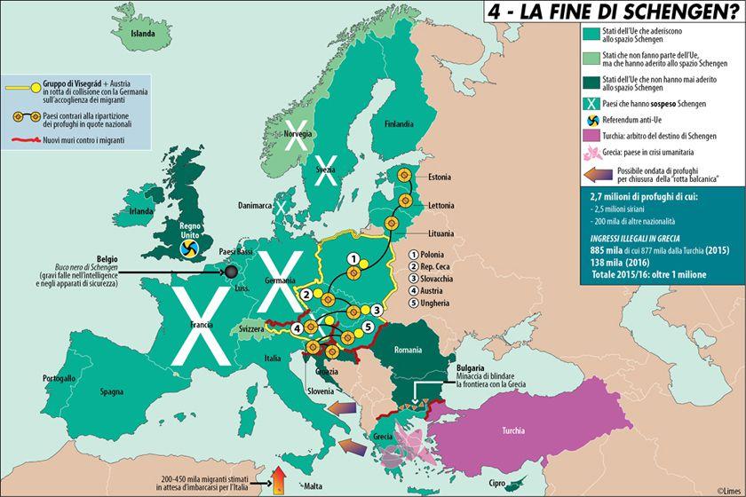La fine di Schengen?