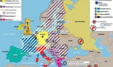 Carta di Laura Canali tratta da Limes 3/16, Bruxelles il fantasma dell'Europa.