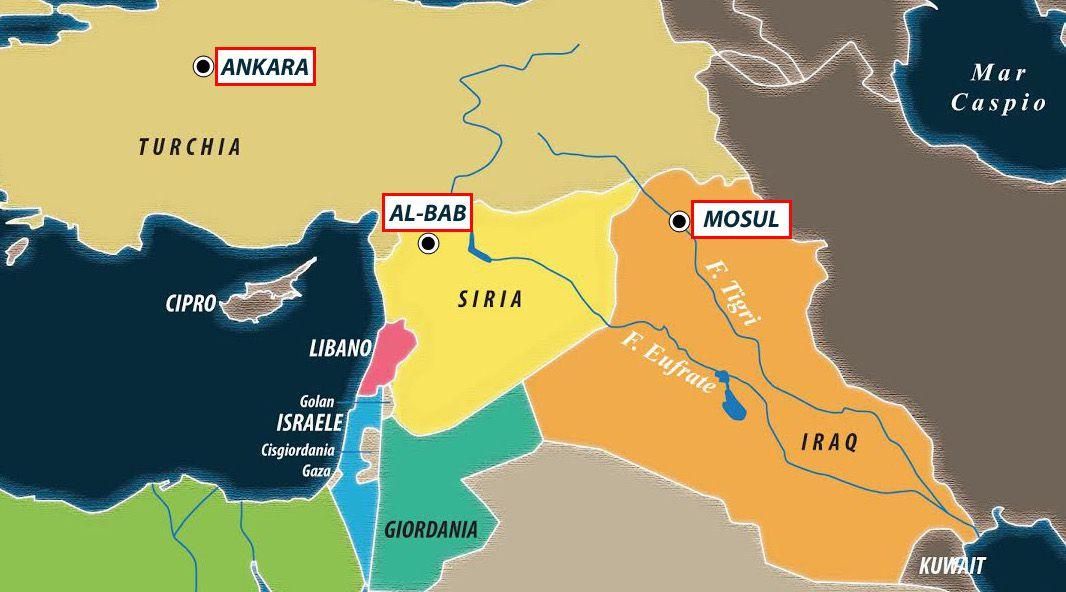 Cartina Africa E Siria.Russia E Turchia Si Spartiscono Frammenti Di Siria Limes
