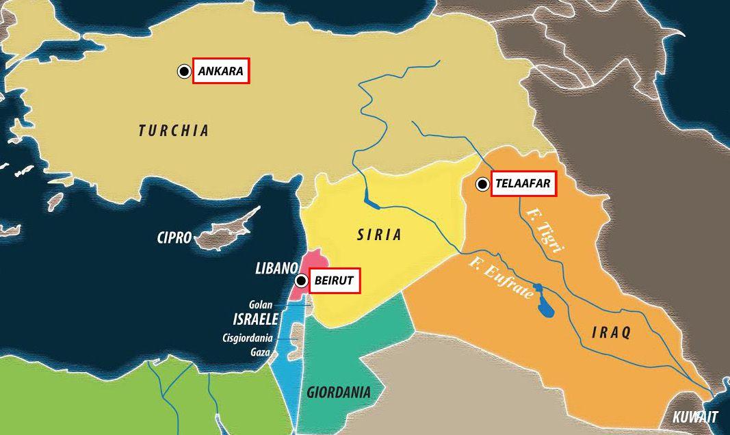 Cartina Del Libano.Il Libano Festeggia L Indipendenza Che Non Ha Limes