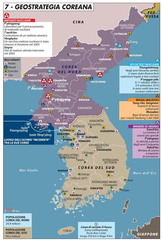 Cartina Mondo Corea.La Corea Non E Un Paese Limes