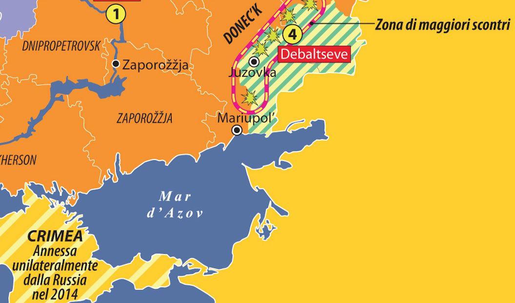 Le ucraine oggi dettaglio