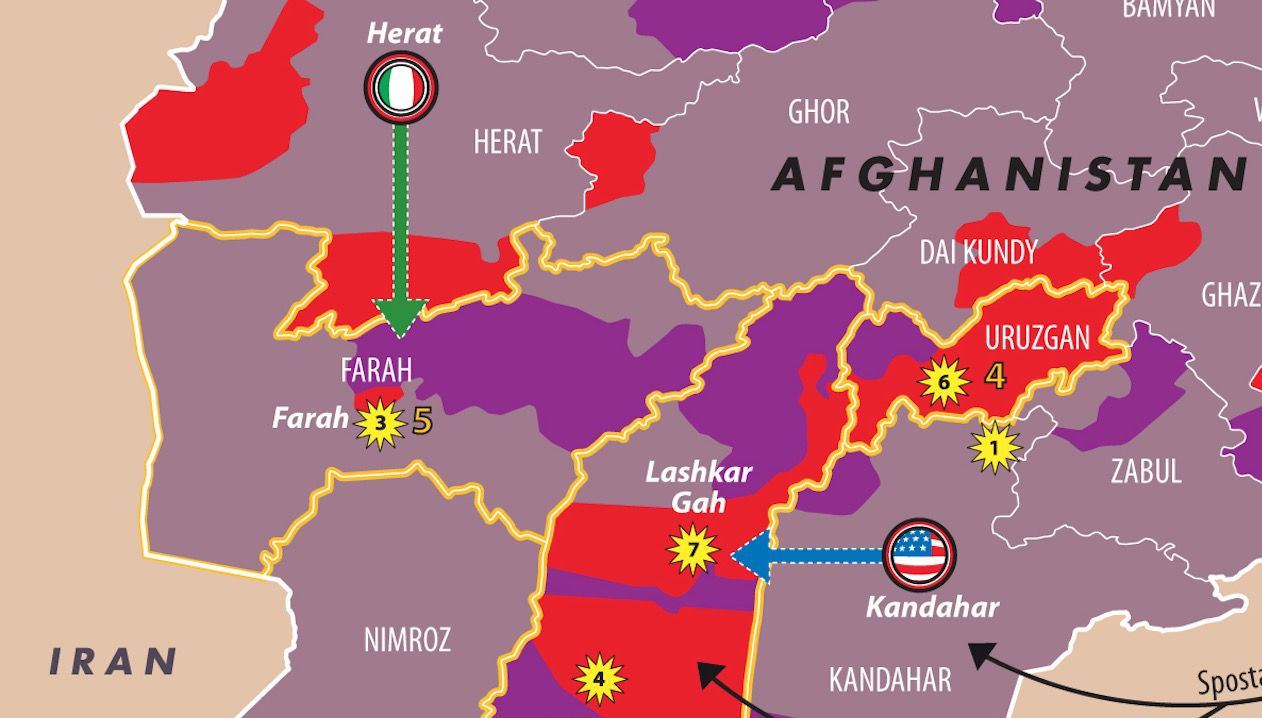Dettaglio Afghanistan 2017