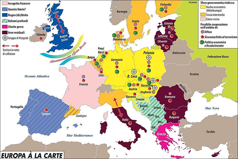 Cartina Politica Mondo 2017.Europa A La Carte Limes
