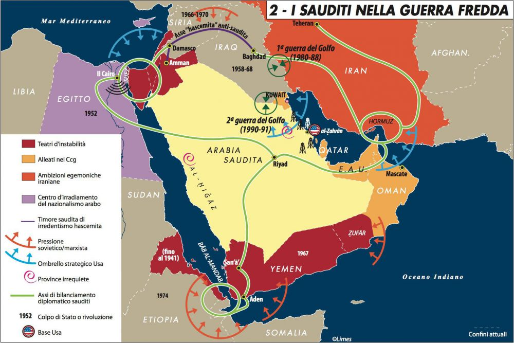 Un imperialismo minore: la paradossale parabola dell'Arabia Saudita