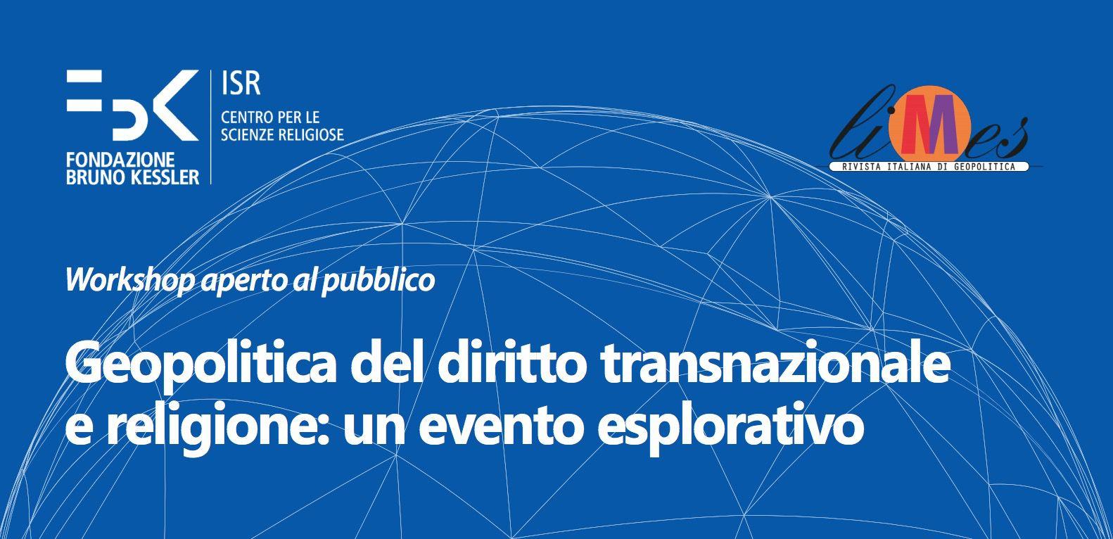 Locandina Seminario Trento FBK