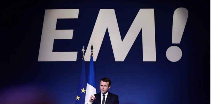 Foto tratta dal profilo Instagram di Emmanuel Macron
