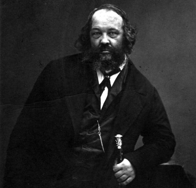 Mikhail Alexandrovich Bakunin (Foto: Nadar/Getty Images).