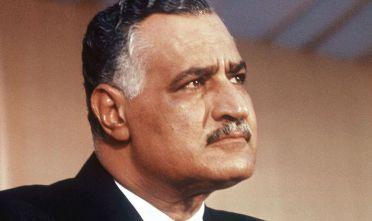 Il presidente egiziano Gamal Abdel Nasser (Foto da:  STAFF/AFP/Getty Images)
