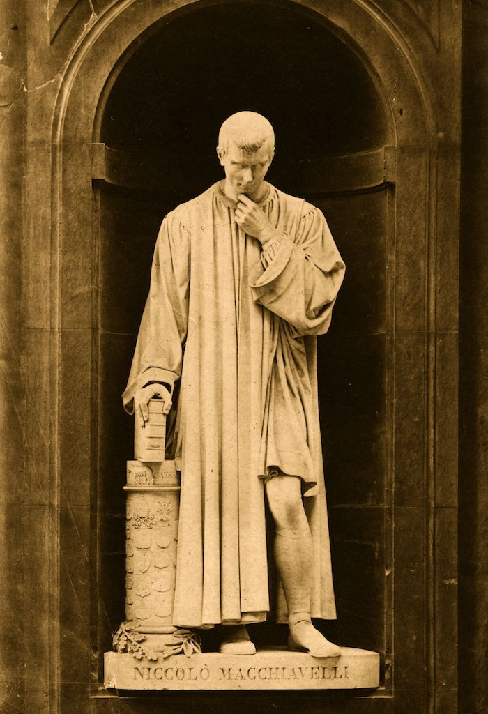 Italian statesman, philosopher and writer Niccolo Machiavelli, circa 1500.   (Photo by Hulton Archive/Getty Images)