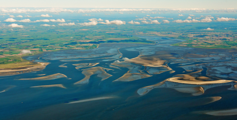 Isole della piana tidale
