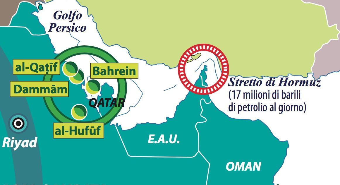 Dettaglio Qatar Hormuz