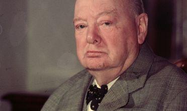 Il primo ministro britannico Winston Churchill, 1956.  (Foto: Baron/Getty Images)