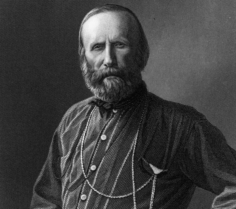 Giuseppe Garibaldi (1807-1882). Immagine: Hulton Archive/Getty Images.