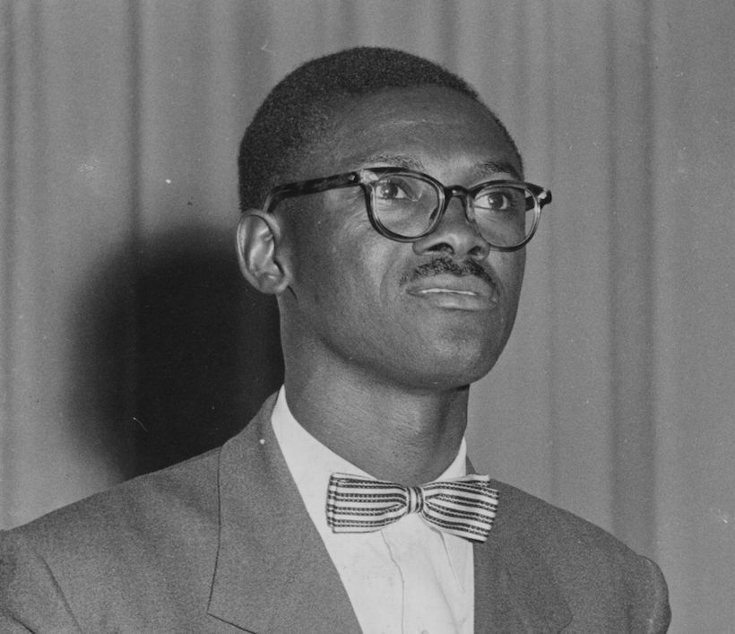 Patrice Lumumba, leader del Movimento Nazionale Congolese (Foto: Central Press/Getty Images)