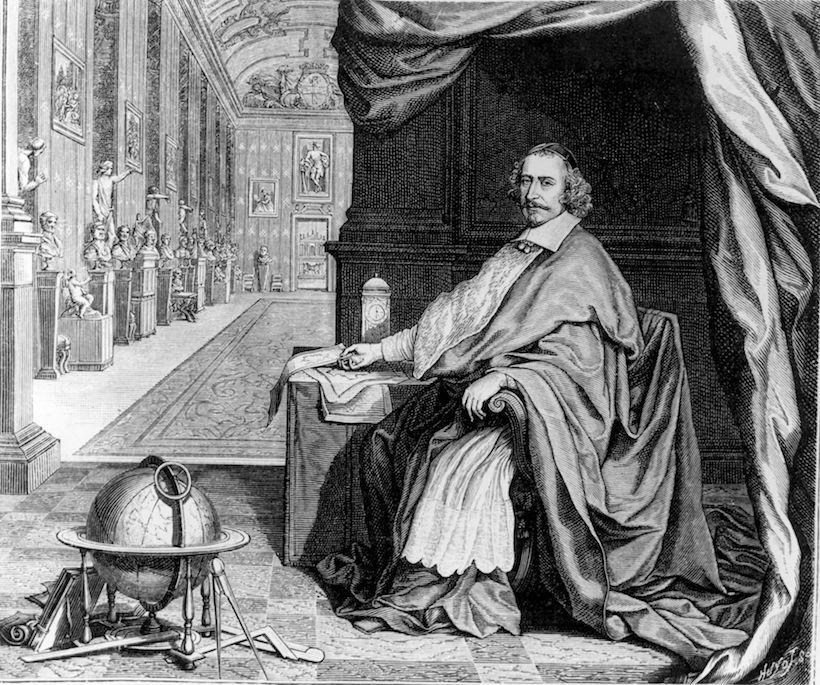 Il cardinale Giulio Mazzarino, 1650 circa (Immagine: Hulton Archive/Getty Images).