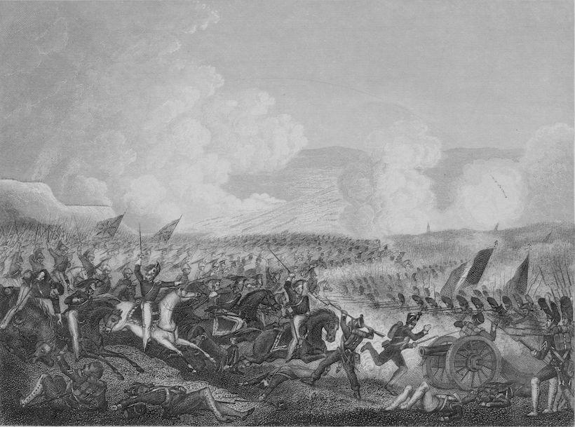 La battaglia di Salamanca, 22 luglio 1812 (Immagine: Hulton Archive/Getty Images).